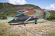 Off Airfield Western CO, Timberline Helicopters K-Max